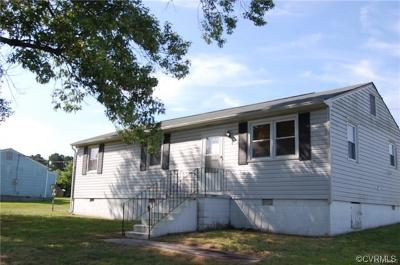 Dinwiddie County Single Family Home For Sale: 16018 Old Cryors Road