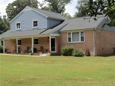 Mechanicsville Single Family Home For Sale: 9563 Williamsville Road