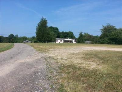 Amelia County Single Family Home For Sale: 13964 Grub Hill Church Road