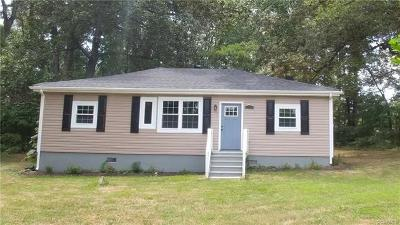Goochland Single Family Home For Sale: 2199 Youngstown Road