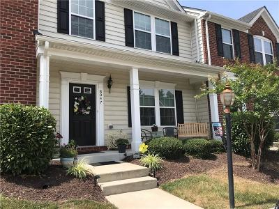 Hanover County Condo/Townhouse For Sale: 8047 Creekside Village Drive