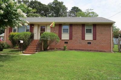 Colonial Heights VA Single Family Home For Sale: $154,999