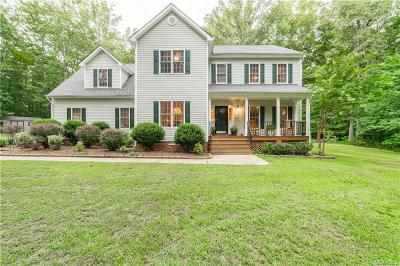 Powhatan County Single Family Home For Sale: 2182 Maple Cottage Road