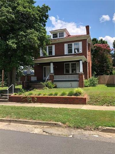 Richmond Single Family Home For Sale: 2707 2nd Avenue
