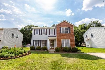 Richmond Single Family Home For Sale: 683 Westover Woods Circle