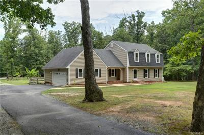 Powhatan Single Family Home For Sale: 1461 King William Woods Road