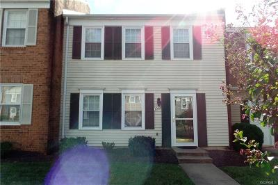 Henrico VA Condo/Townhouse Sold: $135,000