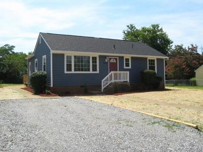 Henrico Single Family Home For Sale: 3605 Whitlock Avenue