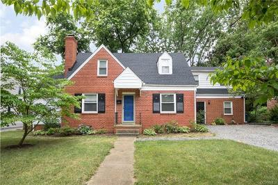 Henrico County Single Family Home For Sale: 6619 Monument Avenue