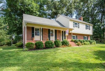 Henrico County Single Family Home For Sale: 1614 Denham Road