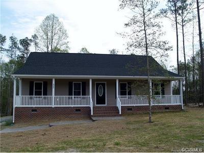 New Kent Single Family Home For Sale: Lot 18 Rock Cedar Road