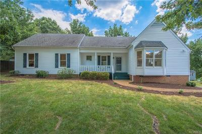 Chesterfield County Single Family Home For Sale: 8103 Tillers Ridge Terrace