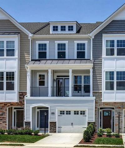 Henrico County Condo/Townhouse For Sale: 2124 Perennial Circle #11 C
