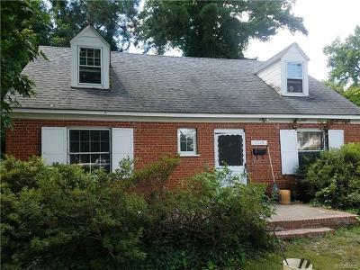 Henrico County Single Family Home For Sale: 7115 Horsepen Road