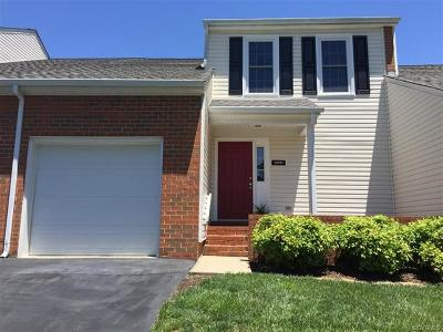 Henrico County Condo/Townhouse For Sale: 12037 Bexley Court