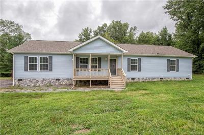 Powhatan Single Family Home For Sale: 1625 Cedar Lane