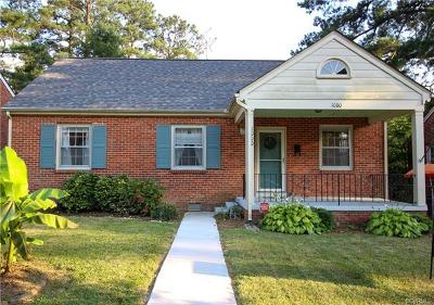 Petersburg Single Family Home For Sale: 1000 Hampton Road