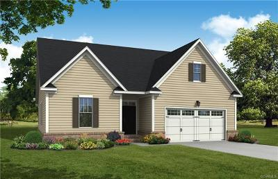 Goochland County Single Family Home For Sale: Lot 1 Readers Branch