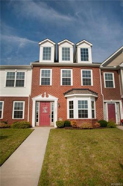 Hanover County Condo/Townhouse For Sale: 7495 Pebble Lake Drive