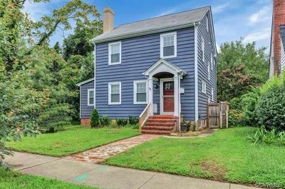 Richmond Single Family Home For Sale: 2509 Semmes Avenue