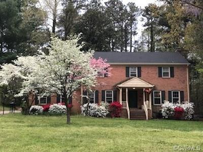 Chesterfield County Single Family Home For Sale: 11757 Dewberry Lane