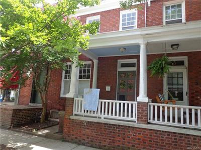 Richmond Single Family Home For Sale: 3 South Mulberry Street