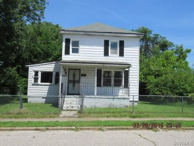 Petersburg Single Family Home For Sale: 1315 Hinton Street