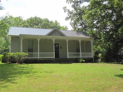 Farmville Single Family Home For Sale: 1703 High Street