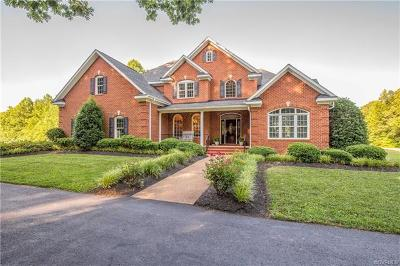 Powhatan Single Family Home For Sale: 5800 Cartersville Road