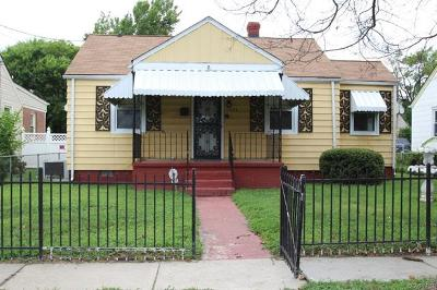 Richmond VA Single Family Home Sold: $76,000