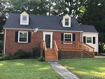 Henrico Single Family Home For Sale: 1206 Bobbiedell Lane