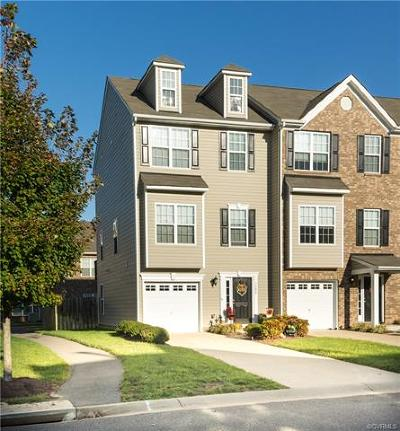 Hanover County Condo/Townhouse For Sale: 7292 Jackson Arch Drive