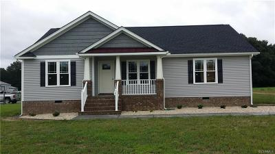 King William Single Family Home For Sale: 11 Tbd Green Level Road