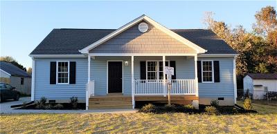 South Chesterfield Single Family Home For Sale: 6620 Johnston Street