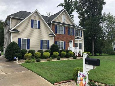 Colonial Heights Single Family Home For Sale: 104 Woodbridge Road