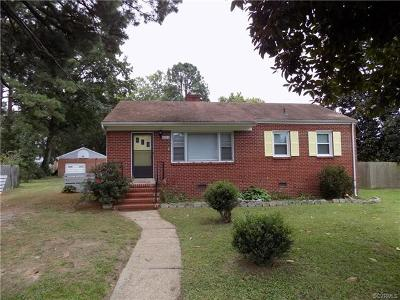 Richmond Single Family Home For Sale: 5711 Berrywood Road