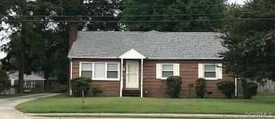 Colonial Heights Single Family Home For Sale: 609 East Ellerslie Avenue