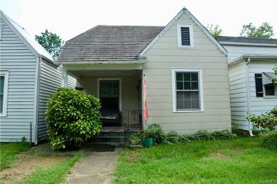 Richmond Single Family Home For Sale: 3413 Parkwood Avenue