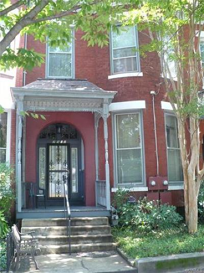 Richmond VA Single Family Home Sold: $205,000