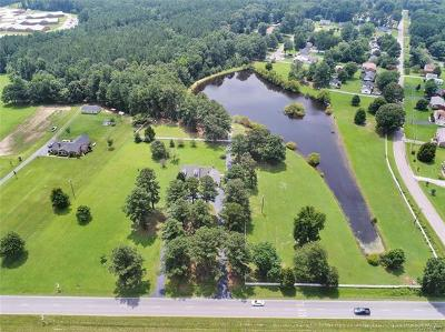 Dinwiddie County Single Family Home For Sale: 20615 Cox Road