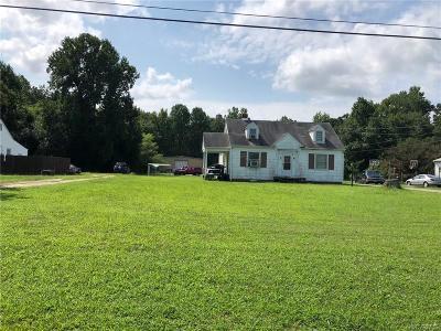 Mechanicsville Single Family Home For Sale: 6095 Mechanicsville Turnpike