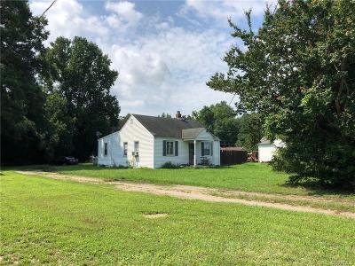 Mechanicsville Single Family Home For Sale: 6091 Mechanicsville Turnpike