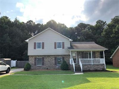 Hopewell Single Family Home For Sale: 640 Cabin Creek Drive