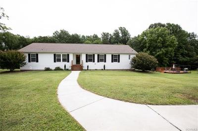Farmville Single Family Home For Sale: 4692 Abilene Road