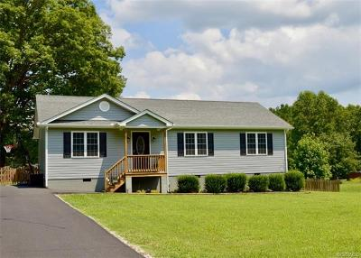 Powhatan Single Family Home For Sale: 1532 Holly Hills Road