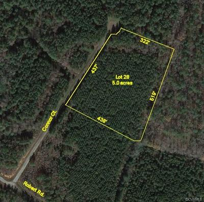 Brunswick County Residential Lots & Land For Sale: Connor Court