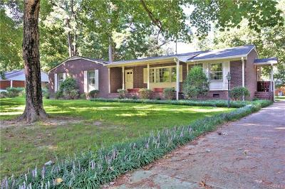 Chester Single Family Home For Sale: 11410 Rochelle Road