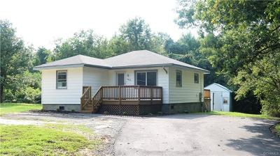 Charles City Single Family Home For Sale: 7431 Courthouse Road