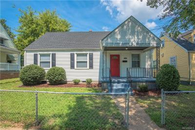 Richmond Single Family Home For Sale: 1807 Boston Avenue