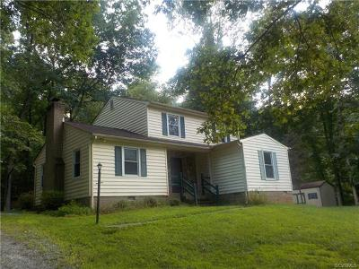 Chester Single Family Home For Sale: 10332 Spring Run Road